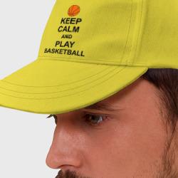 Keep calm and play basketball.