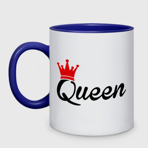 Кружка двухцветная  Фото 01, Королева
