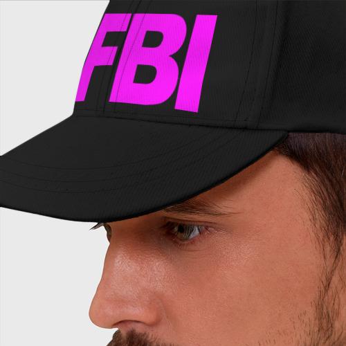 Бейсболка Кислотный FBI