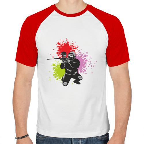 Мужская футболка реглан  Фото 01, Спорт-пейнтбол
