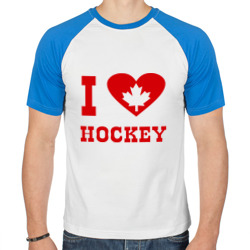 Я люблю канадский хоккей.