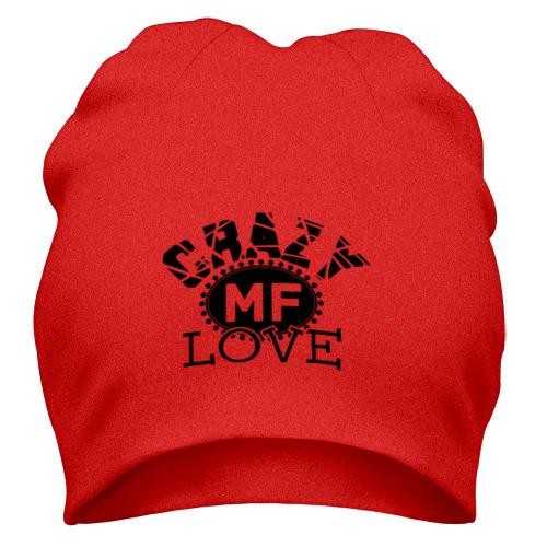 Шапка Crazy MF love