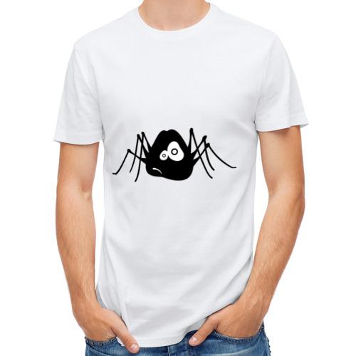 Мужская футболка полусинтетическая  Фото 01, Паучек
