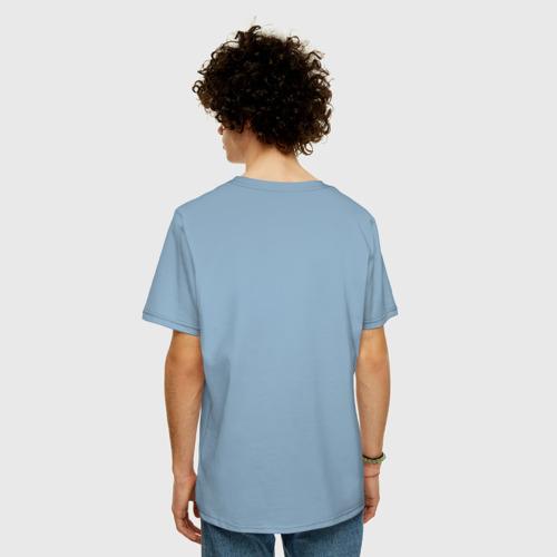 Мужская футболка хлопок Oversize Люби и катайся Фото 01