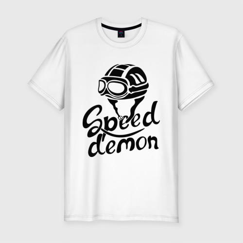 Мужская футболка премиум  Фото 01, Speed demon
