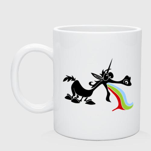 Единорог и радуга