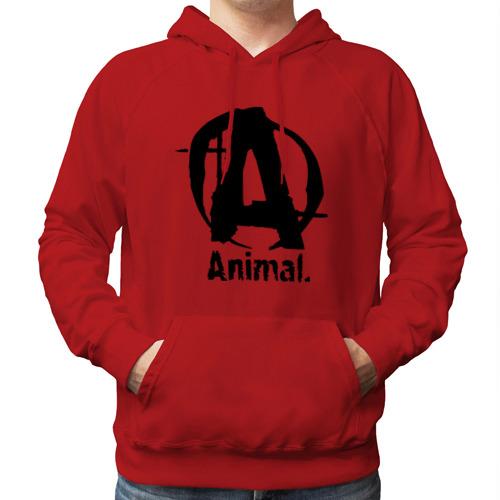 "Мужская толстовка-реглан ""Animal 2"" - 1"