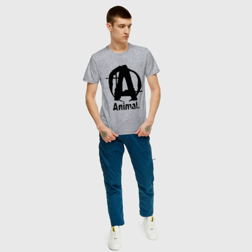 Мужская футболка хлопок Animal 2 Фото 01