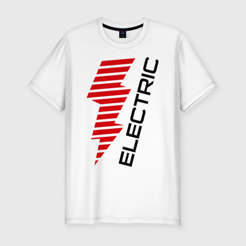 Мужская футболка премиум  Фото 01, Electric Line