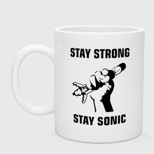 Кружка  Фото 01, Doctor Who : Stay Strong Stay Sonic