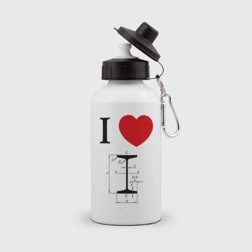 Бутылка спортивная  Фото 01, Я люблю двутавр