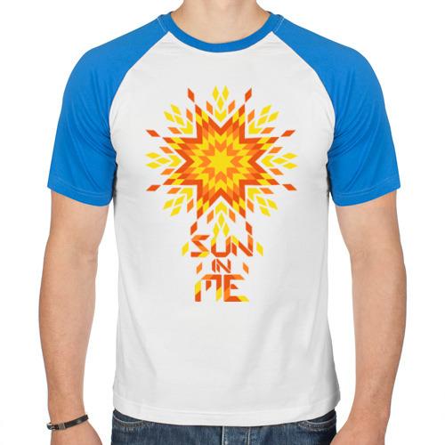 Мужская футболка реглан  Фото 01, Sun in me