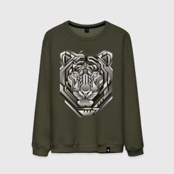 Geometric tiger
