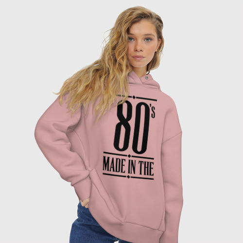 Женское худи Oversize хлопок Made in the 80s Фото 01