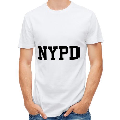 Мужская футболка полусинтетическая  Фото 01, NYPD