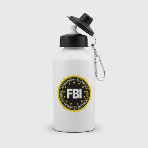 Бутылка спортивная FBI