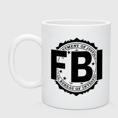 Кружка FBI LOGO
