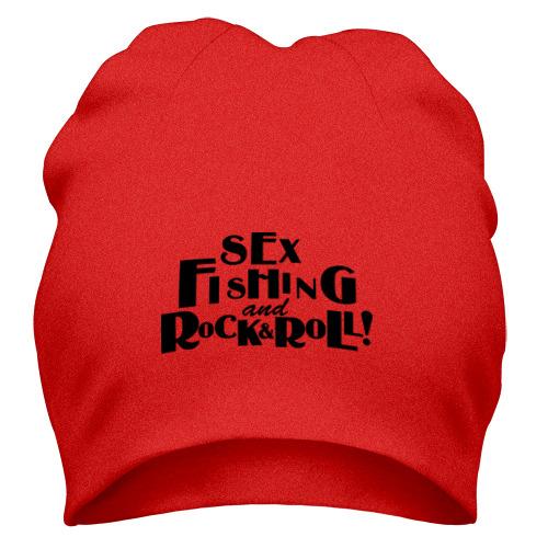 Шапка Sex fishing & rock'n'roll