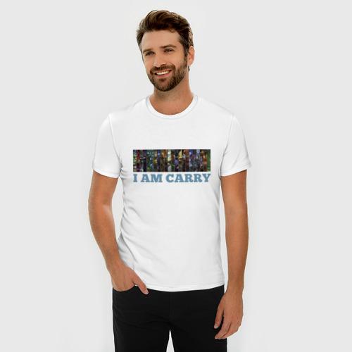 Мужская футболка премиум  Фото 03, I am carry