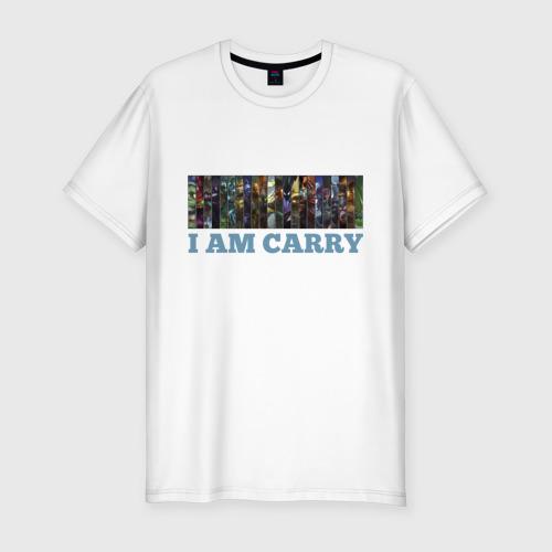 Мужская футболка премиум  Фото 01, I am carry