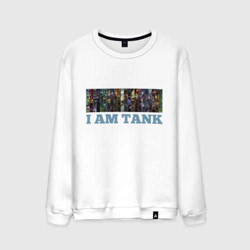 Мужской свитшот хлопок  Фото 01, I am tank