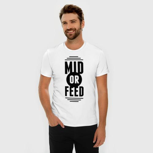 Мужская футболка премиум  Фото 03, Mid or feed