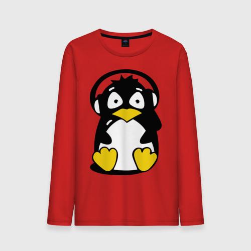Пингвин в наушниках