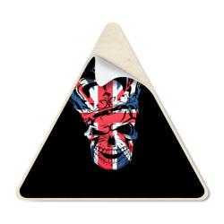 Череп, флаг Британии - интернет магазин Futbolkaa.ru