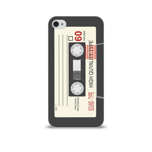 Чехол для Apple iPhone 4/4S soft-touch Кассета