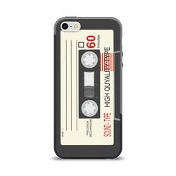 Чехол для Apple iPhone 5/5S силиконовый глянцевыйКассета