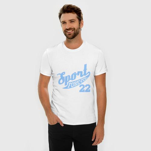 Мужская футболка премиум  Фото 03, Sport forever