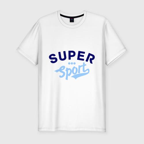 Мужская футболка премиум  Фото 01, Super sport