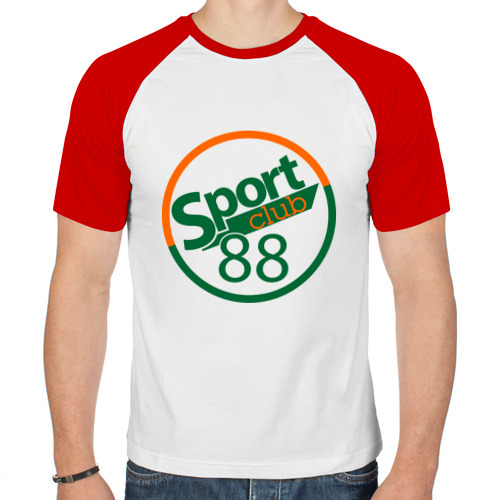 Мужская футболка реглан  Фото 01, Sport club