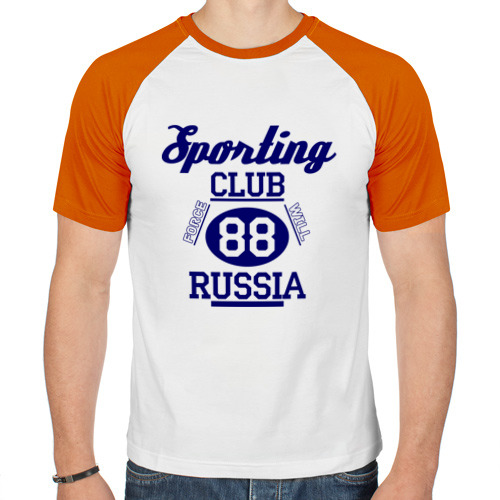 Мужская футболка реглан  Фото 01, Sporting club