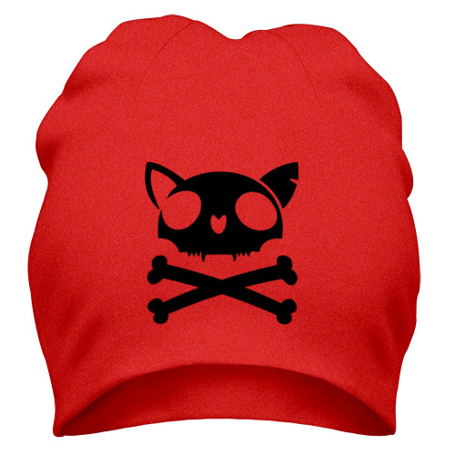 Шапка кошачий пиратскй флаг