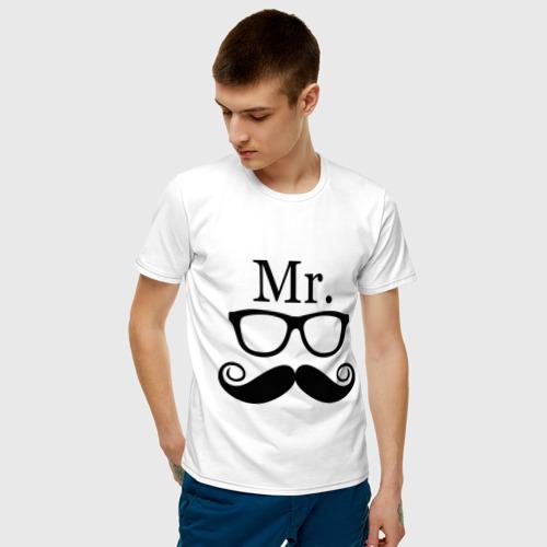 Мужская футболка хлопок Mистер (парная) Фото 01
