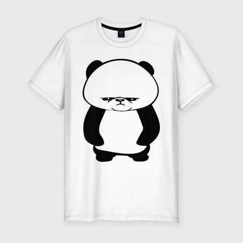 Серьезная панда.