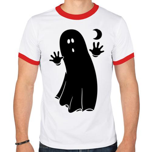 Мужская футболка рингер  Фото 01, Приведение
