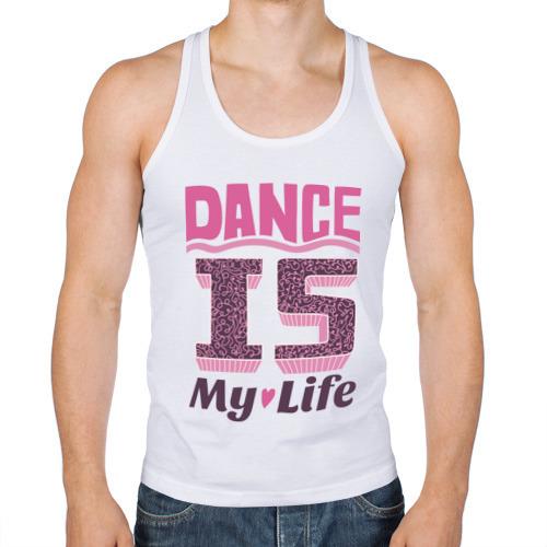 Мужская майка борцовка  Фото 01, Dance is my life