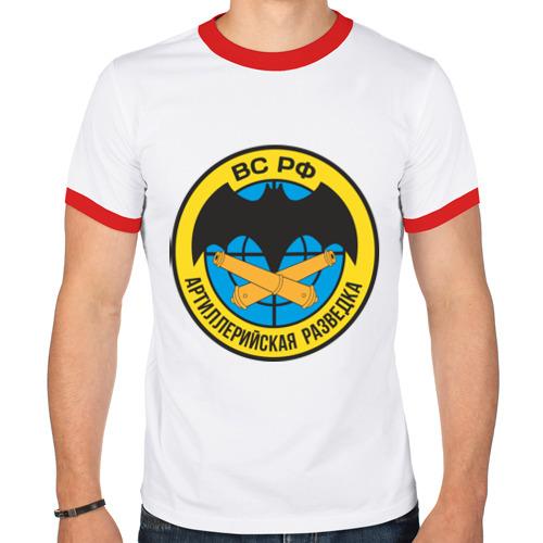 Мужская футболка рингер  Фото 01, Артиллерийская разведка