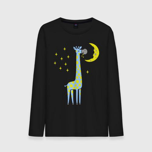 Мужской лонгслив хлопок Сказочный жираф Фото 01