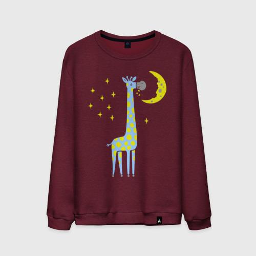 Мужской свитшот хлопок Сказочный жираф Фото 01