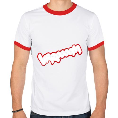 Мужская футболка рингер  Фото 01, Wrroooom (звук из комиксов)