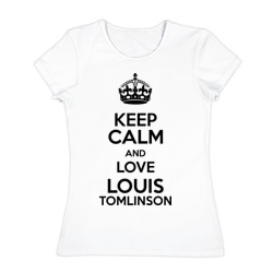 Keep calm and love Louis Tomlinson - интернет магазин Futbolkaa.ru