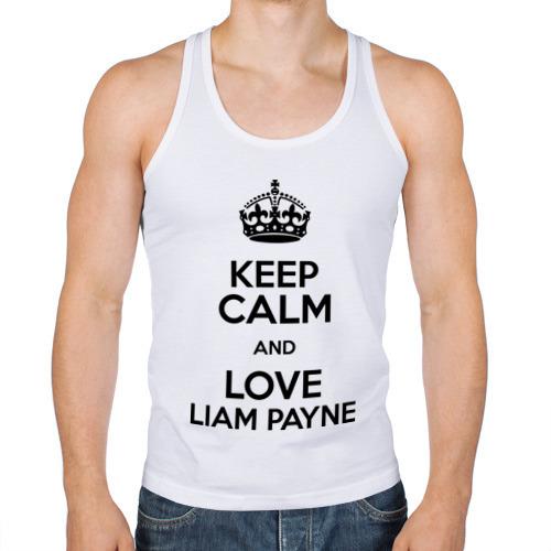 Мужская майка борцовка  Фото 01, Keep calm and love Liam Payne