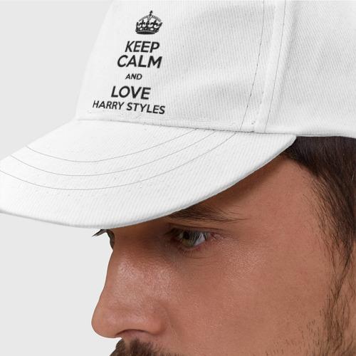 Бейсболка  Фото 01, Keep calm and love Harry Styles