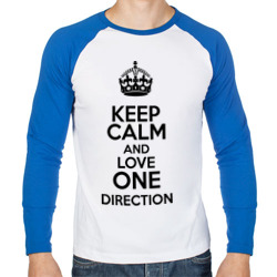 Keep calm and love One Direction