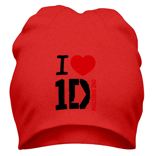 Шапка I love 1D