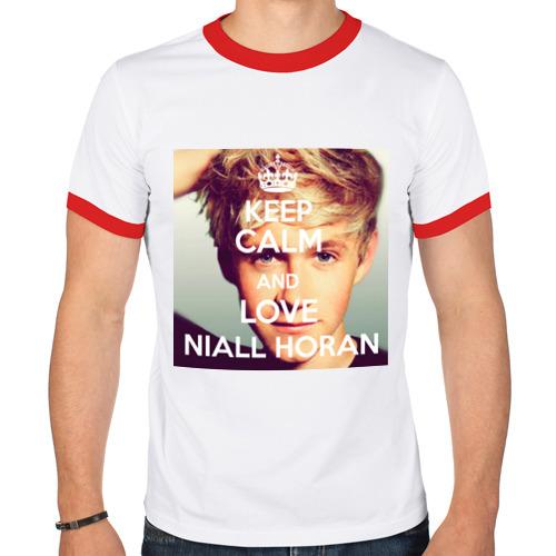 Мужская футболка рингер  Фото 01, Keep calm and love Niall Horan