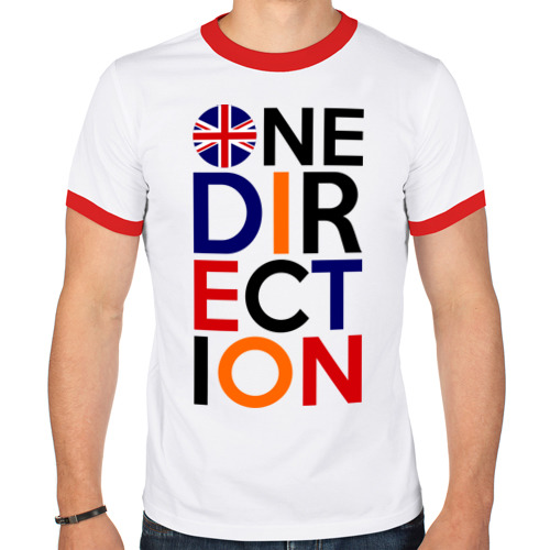 Мужская футболка рингер  Фото 01, One direction